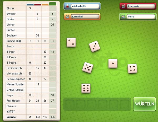 yatzy online spielen kostenlos